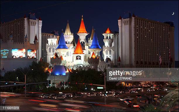 Excalibur Hotel at the 100th anniversary of The World's gambling in Las Vegas United States on October 04th 2004