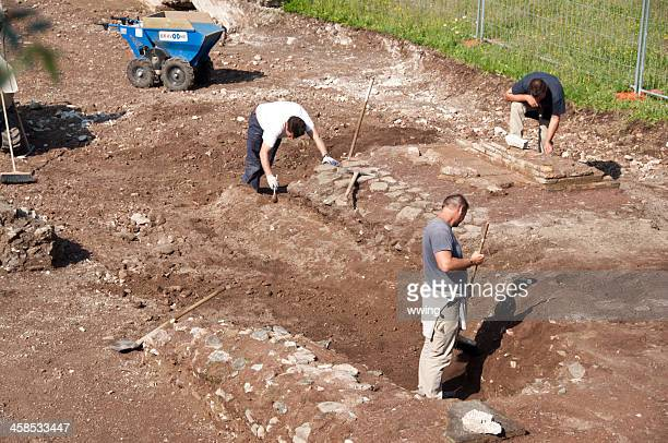 Excavating in Rome