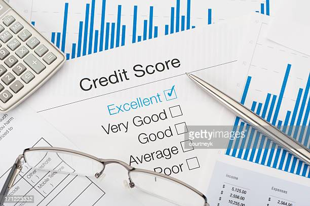 excellent credit score - permission concept stock pictures, royalty-free photos & images