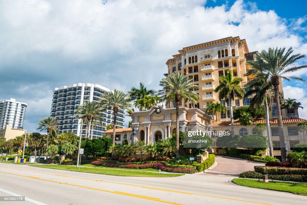 Excelsior Condominium, Boca Raton, USA : Stock Photo