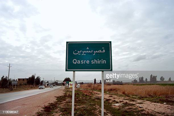 Except for its mosque the city of QasreShirin Iran photographed on February 15 was completely razed during the 8year IraqIran War It is located just...