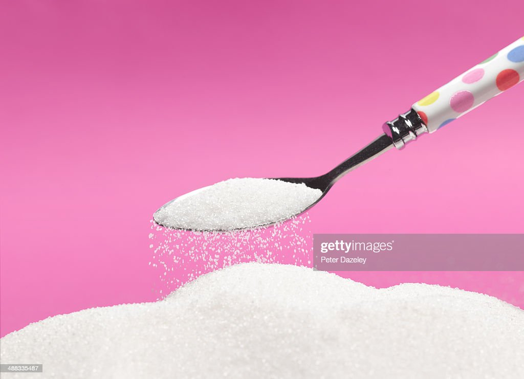 Excess of sugar : Stock Photo
