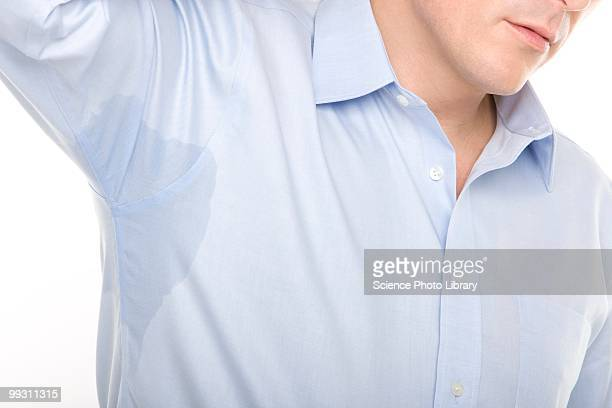 excessive sweating - male armpits stock pictures, royalty-free photos & images