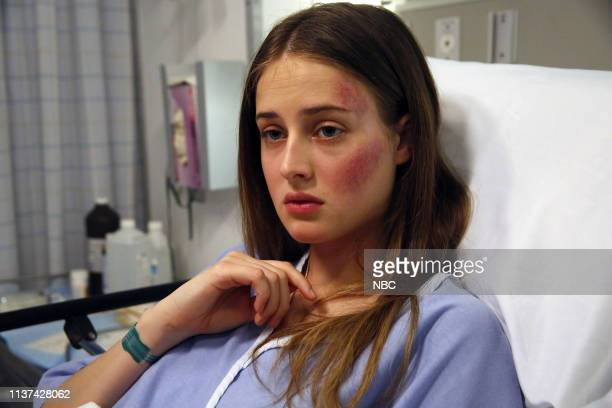 UNIT 'Exchange' Episode 2021 Pictured Anna Van Patten as Emilia Barassi