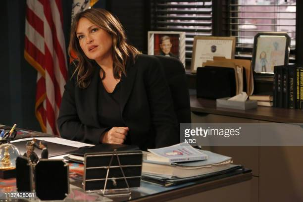 UNIT Exchange Episode 2021 Pictured Mariska Hargitay as Lieutenant Olivia Benson