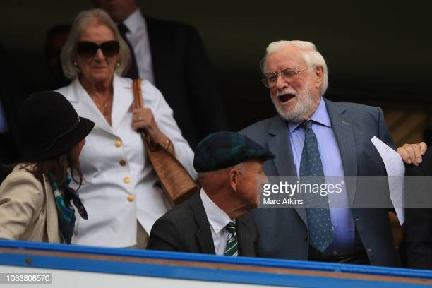 ExChelsea chairman Ken Bates during the Premier League match between Chelsea FC and Cardiff City at Stamford Bridge on September 15 2018 in London...