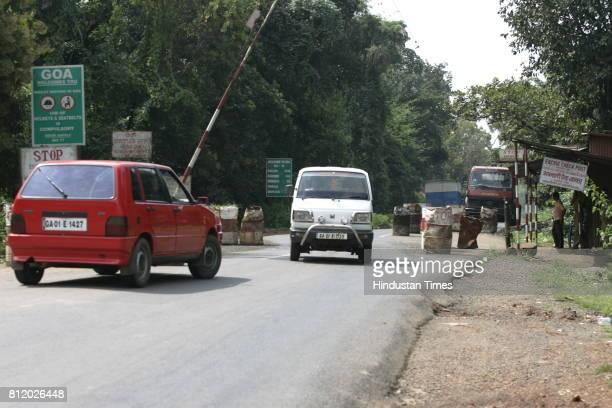 Excise Check Post Check Naka on Mumbai Goa Highway