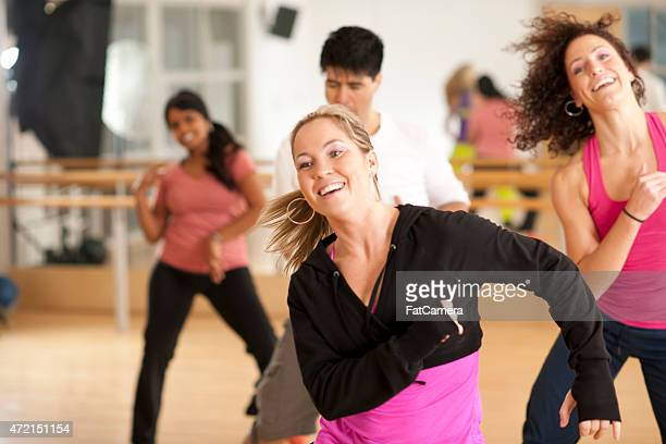 Excited Dance Class
