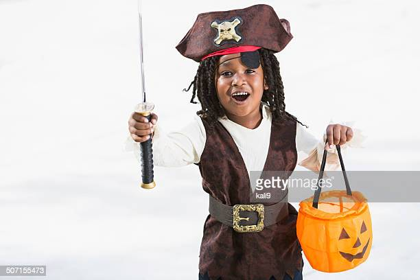 excited little boy in halloween costume - stage costume stock pictures, royalty-free photos & images