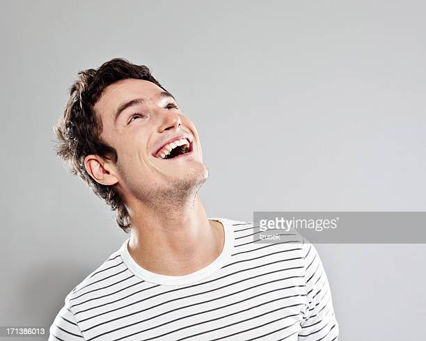 excited man - looking up stock pictures, royalty-free photos & images
