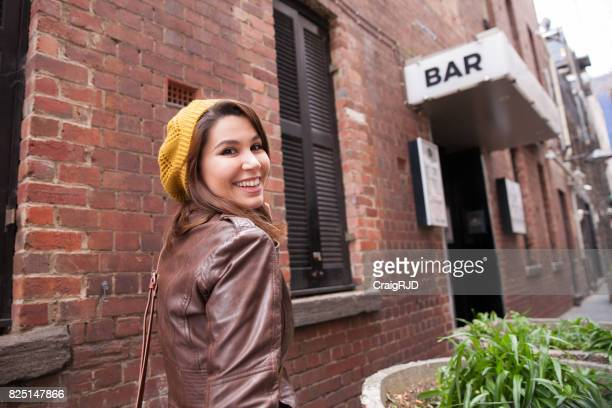 Excited to Visit the Bar
