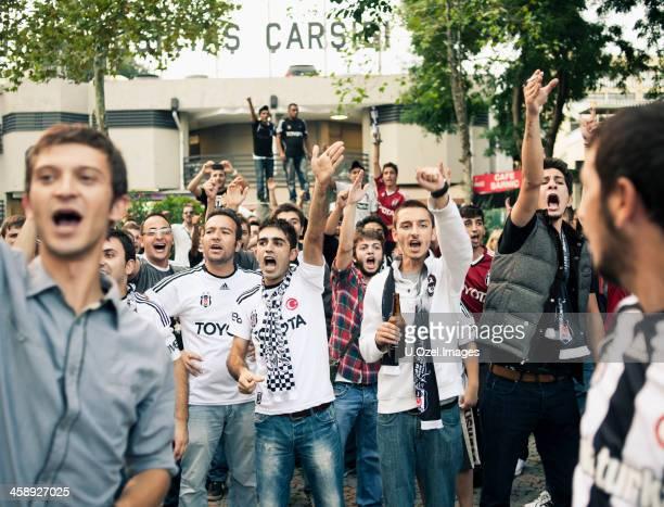 Exciting Besiktas Fans