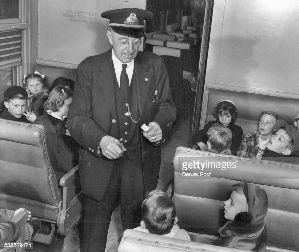 MAR 14 1952 MAR 16 1952 'GOING SOMEWHERE IS ALWAYS FUN AND EXCITING'The young passengers debate the thrills of looking out the window at the fast...