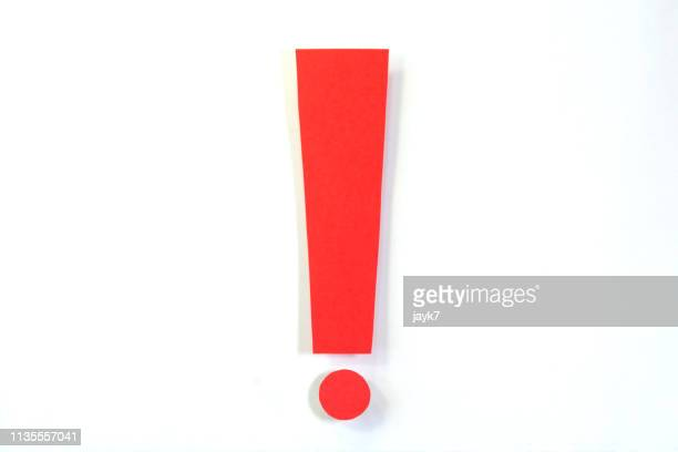 exclamation mark - alertness stock pictures, royalty-free photos & images
