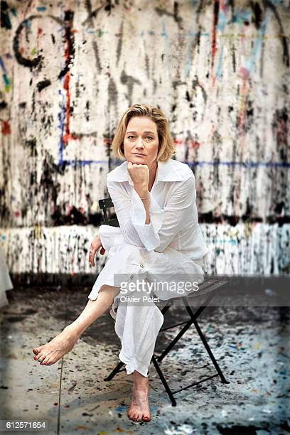 Exclusif pictures of Delphine Boel natural daughter of king Albert II Delphine is launching an exhibition of her new original works beginning of...