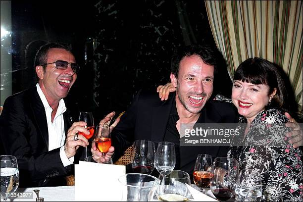 Exclusive 60Th Birthday Of Mireille Mathieu At The Hotel Bristol In Paris On July 22Nd 2006 In Paris France Here Olivier Echaudemaison German...