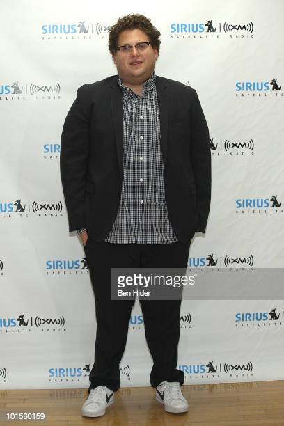 *Exclusive* Actor Jonah Hill visits at SIRIUS XM Studio on June 2 2010 in New York New York