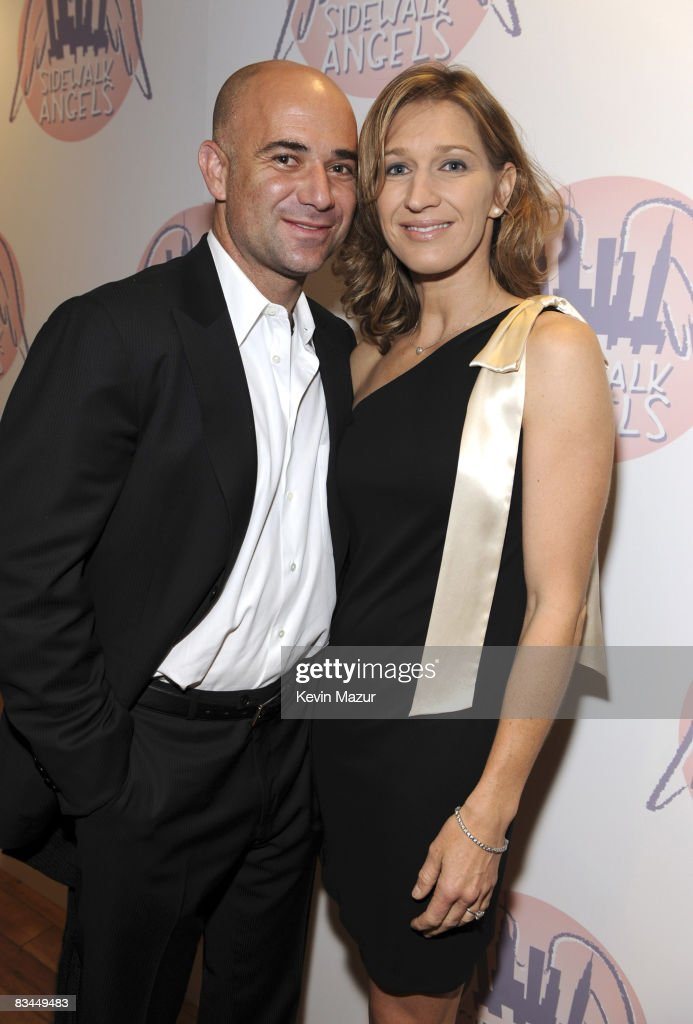 Exclusive Andre Agassi And Steffi Graph Backstage At Sidewalk Angels A Furry Tail