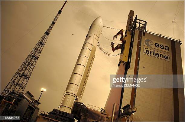 Exclusive Arianespace General Manager JeanYves Le Gall Is To Be Awarded With The 'Satellite Executive Of The Year' Prize On February 8 2006 On...