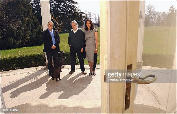 Exclusive Charlie'S Chaplin'S Manor A Last Private Visit Before It Becomes A Museum On March 25 2003 In Switzerland On The Threshold Of The Manoir Du...