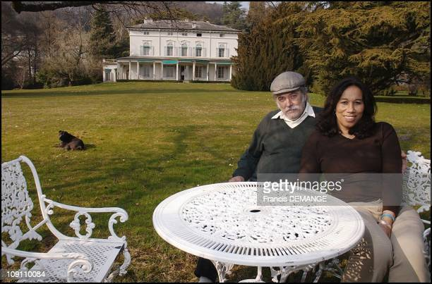 Exclusive Charlie'S Chaplin'S Manor A Last Private Visit Before It Becomes A Museum On March 25 2003 In Switzerland Manoir De Ban Michael And...