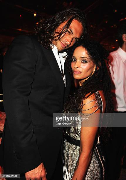 **Exclusive Coverage** Actor Jason Momoa and Lisa Bonet attend HBO's Official Emmy After Party at The Plaza at the Pacific Design Center on September...