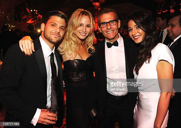**Exclusive Coverage** Actor Jerry Ferrara Alexandra Blodgett President HBO Programming Michael Lombardo and actress Emmanuelle Chriqui attend HBO's...