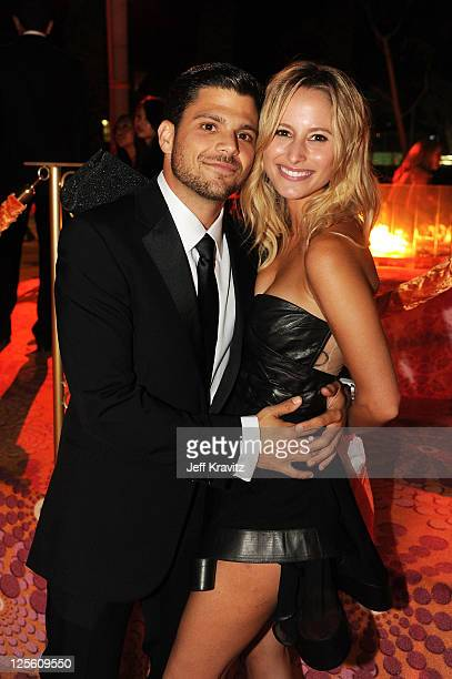 **Exclusive Coverage** Actor Jerry Ferrara and Alexandra Blodgett attend HBO's Official Emmy After Party at The Plaza at the Pacific Design Center on...
