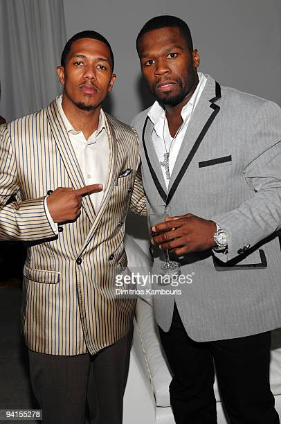 Exclusive Coverage* Actor Nick Cannon and rapper 50 Cent attend the launch of VEVO, the world's premiere destination for premium music video and...