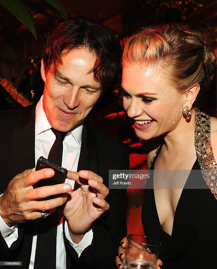 **Exclusive Coverage** Actor Stephen Moyer and Anna Paquin ...