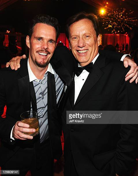 Exclusive Coverage** Actors Kevin Dillon and James Woods attends HBO's Official Emmy After Party at The Plaza at the Pacific Design Center on...