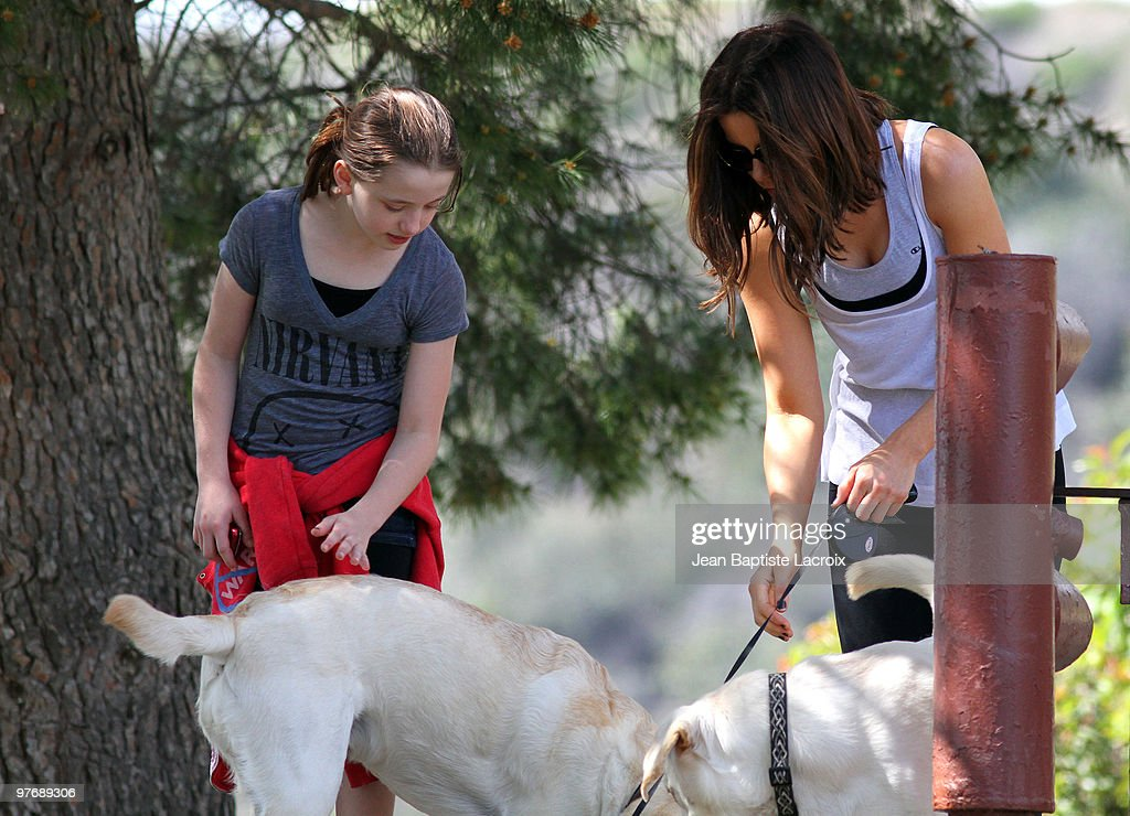 ** Exclusive Coverage** Kate Beckinsale and Lily Sheen are seen on March 13, 2010 in Santa Monica, California.