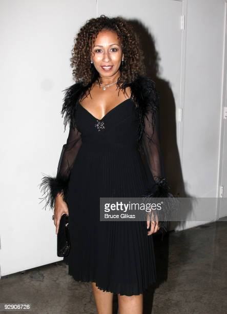Exclusive Coverage* Tamara Tunie poses at the Stage Directors And Choreographers Society 50 Year Celebration at Tribeca Rooftop on November 8, 2009...
