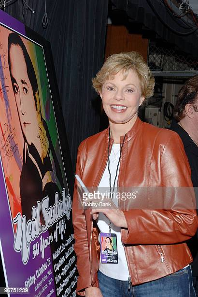 Exclusive Coverage Toni Tennille at rehearsals for Neil Sedaka Celebrates 50 Years of Hits Avery Fisher Hall New York City October 26 2007