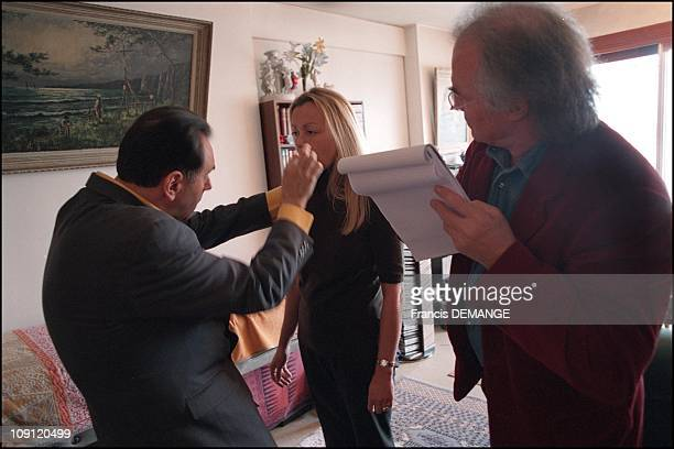 Exclusive crime scene the new investigators 2001 In Paris France June 2001 Alban De Jong Expert In Hypnology And Relaxation Therapy