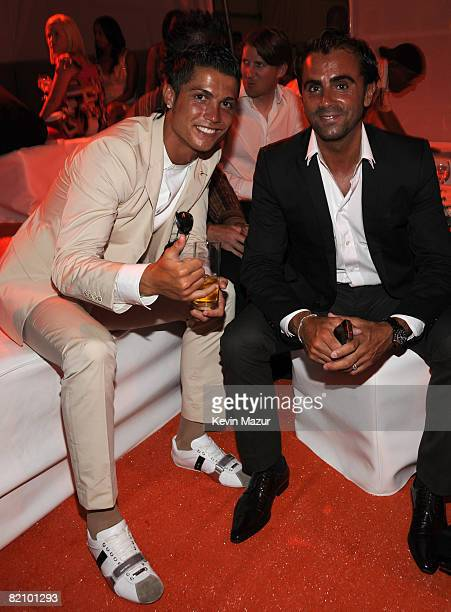 *Exclusive* Cristiano Ronaldo at the after party for the 2008 ESPY Awards held at NOKIA Theatre LA LIVE on July 16 2008 in Los Angeles California The...