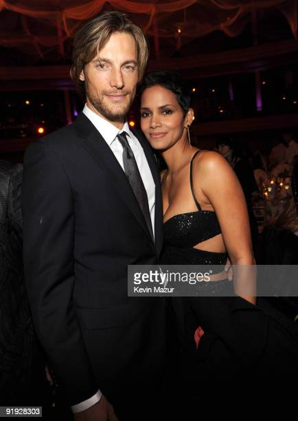Exclusive* Gabriel Aubry and Halle Berry at Hammerstein Ballroom during Keep A Child Alive's 6th Annual Black Ball hosted by Alicia Keys and Padma...