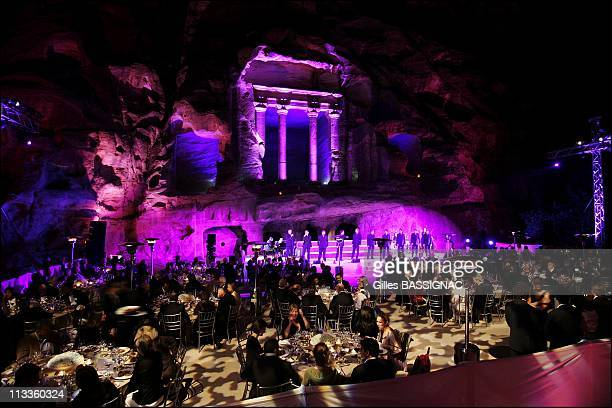 Exclusive Gala Dinner At Little Petra At The Occasion Of The Third Petra Conference Of Nobel Laureates In Petra Jordan On May 15 2007 The Ten Tenors...