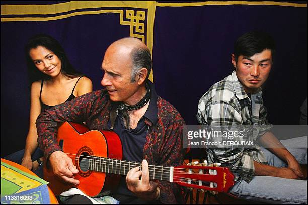Exclusive: Guy Marchand And Adelina In Mongolia - On August 12Th, 2005 - In Mongolia -