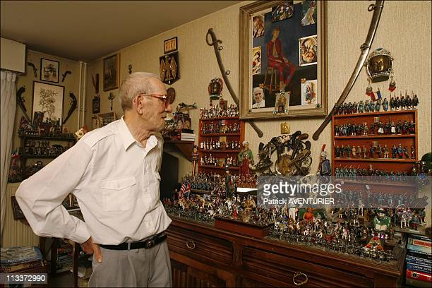 Exclusive Hmong People The History Forgotten Warriors In Clichy France In March 2008 Colonel Jean Sassi in his room with all his souvenirs of the...