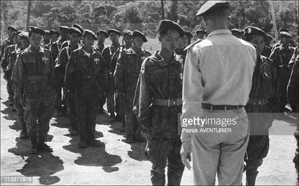 Exclusive Hmong People The History Forgotten Warriors In Laos In March 2008 Jean Sassi' personal archives In Laos in 1954 with Hmong fighters Colonel...