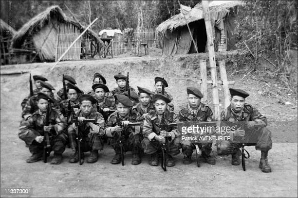 Exclusive Hmong People The History Forgotten Warriors In Laos In March 2008 Jean Sassi' personal archives In Laos in 1953 Hmong fighters who were...