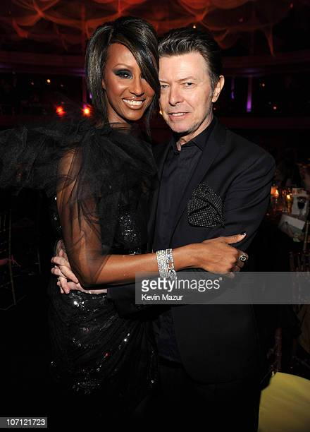 *Exclusive* Iman and David Bowie at Hammerstein Ballroom during Keep A Child Alive's 6th Annual Black Ball hosted by Alicia Keys and Padma Lakshmi on...