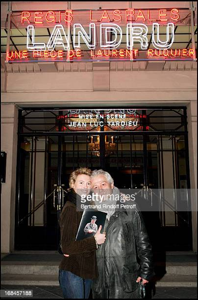 Exclusive Jean Luc Moreau and his wife Mathilde Penin at Exclusive The 100Th Of the Play Landru At The Marigny Theatre In Paris