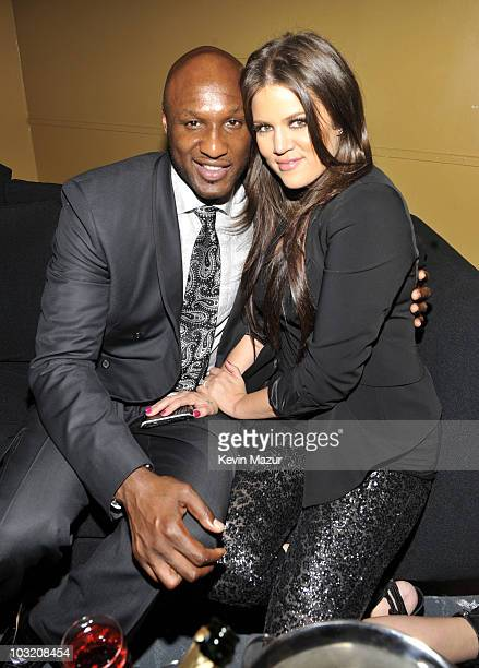 **Exclusive** Lamar Odom and Khloe Odom attend Casio's Shock the World 2010 event at The Manhattan Center on August 2 2010 in New York City