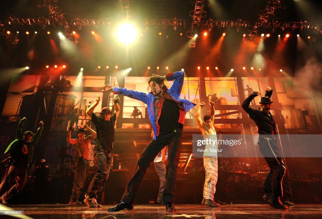 Michael Jackson's Last Concert Rehearsal At Staples Center - June 23, 2009 : News Photo