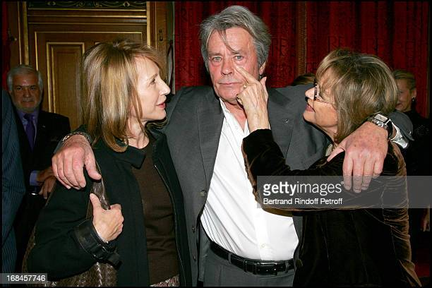 Exclusive Nathalie Baye and Claudia Cardinale at Exclusive Alain Delon Is Awarded The Medal Of The City Of Paris