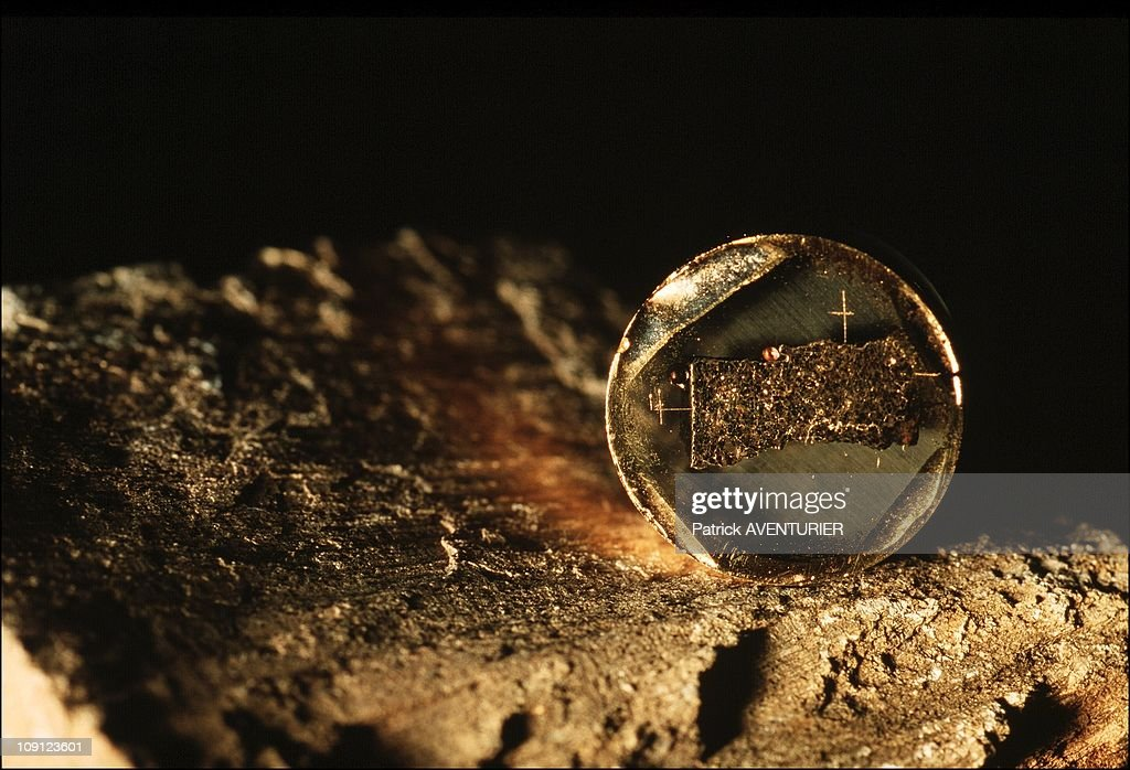 Exclusive: New Proof Of The Presence Of Water In Martian Underground In June 2001, France. : News Photo