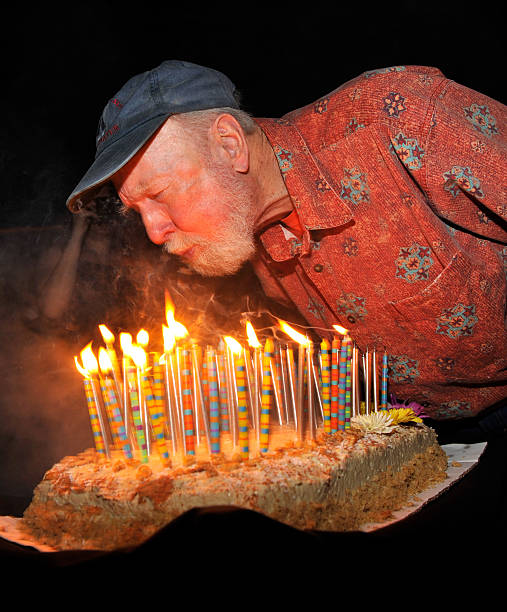 Exclusive Pete Seeger Blows Out His Candles At The After Party For Clearwater