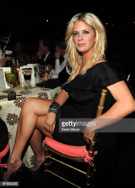 NEW YORK OCTOBER 15 *Exclusive* Rachel Hunter at Hammerstein Ballroom during Keep A Child Alive's 6th Annual Black Ball hosted by Alicia Keys and...